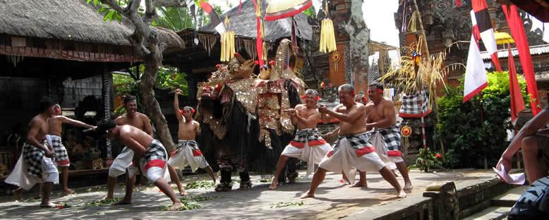 Barong Dansçıları - Bali