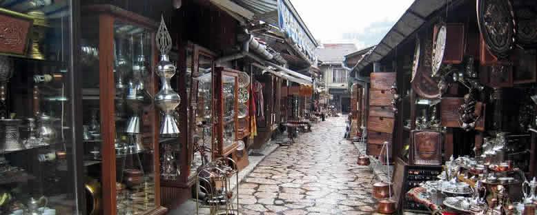 Başçarşı Dükkanları - Saraybosna