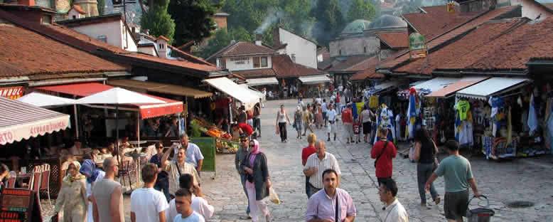 Başçarşı Sokakları - Saraybosna
