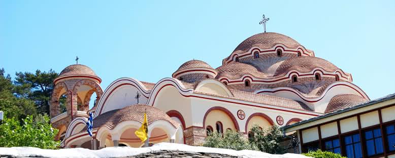 Başmelek Mikail Manastırı - Thassos
