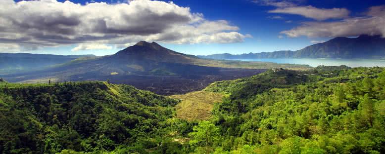 Batur Dağı Manzarası - Bali