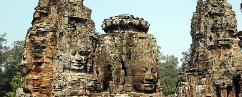 Bayon Tapınağı - Siem Reap