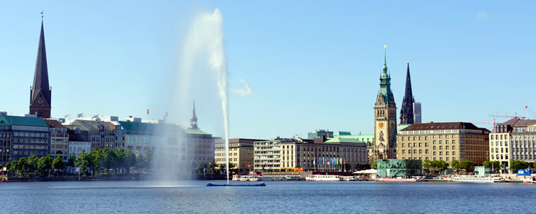 Alster Gölü - Hamburg