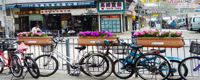 Bisikletler - Hong Kong