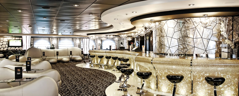 Black & White Lounge - MSC Divina