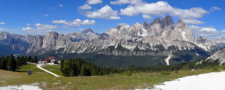 Bölge Panoraması - Cortina d'Ampezzo