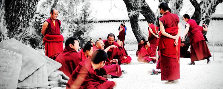 Budist Rahipler - Lhasa