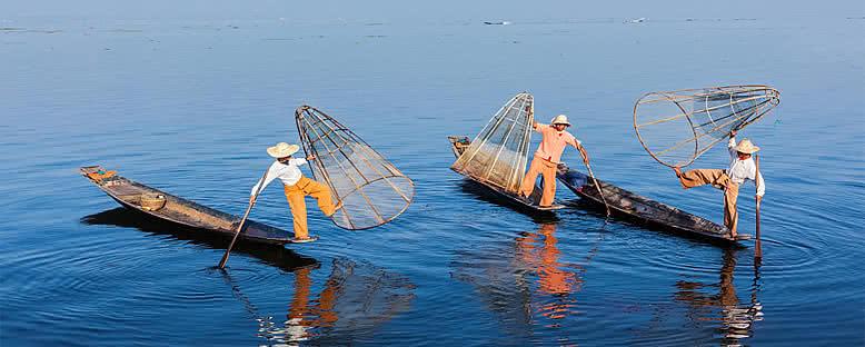 Burmalı Balıkçılar - Inle Gölü