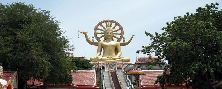 Büyük Buddha Heykeli - Koh Samui