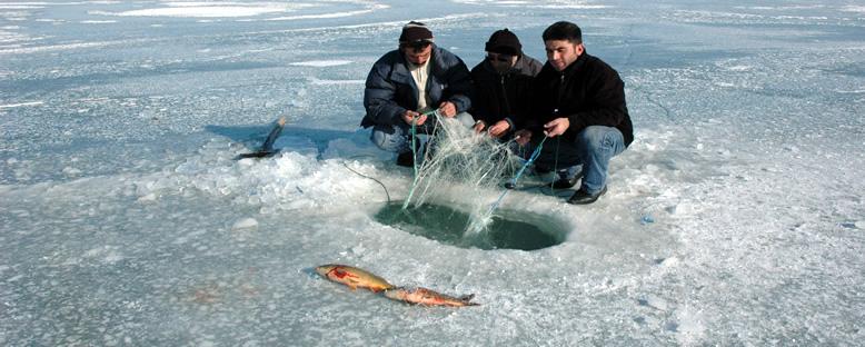 Buz Balıkçılığı - Kars