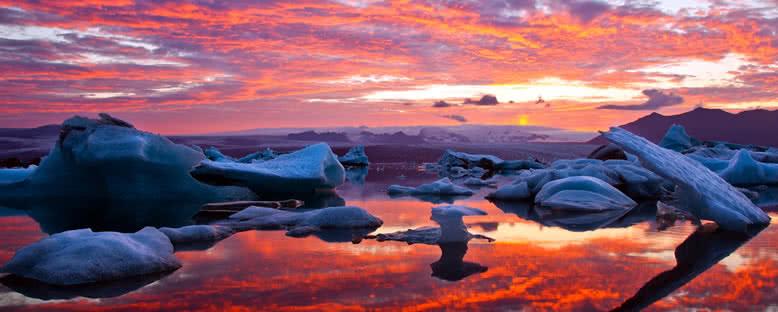 Buzul Gölü - Jökulsarlon