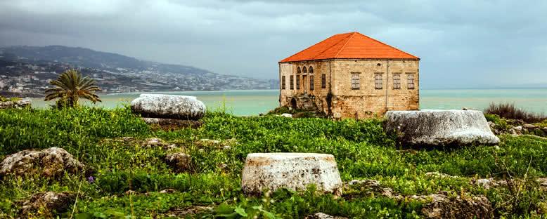 Byblos'ta Tarihi Kalıntılar - Lübnan