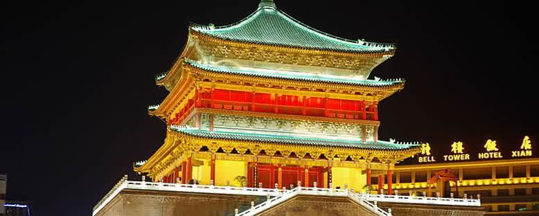 Çan Kulesi -Xian
