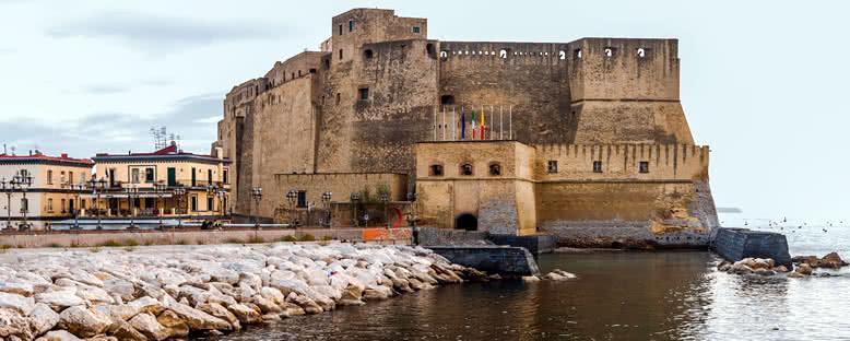 Castel dell'Ovo Manzarası - Napoli
