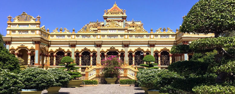 Vinh Trang Pagoda - Ho Chi Minh City