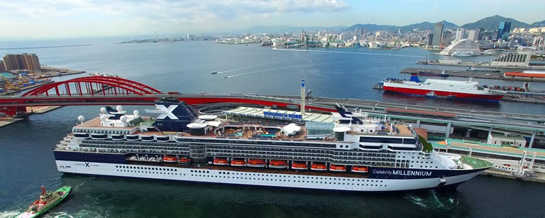 Celebrity Millenium ile Uzakdoğu Gemi Turu