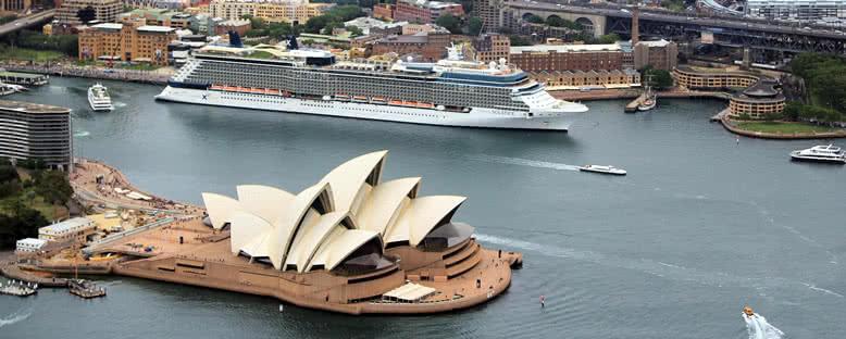 Celebrity Solstice ile Avustralya ve Yeni Zelanda Gemi Turu