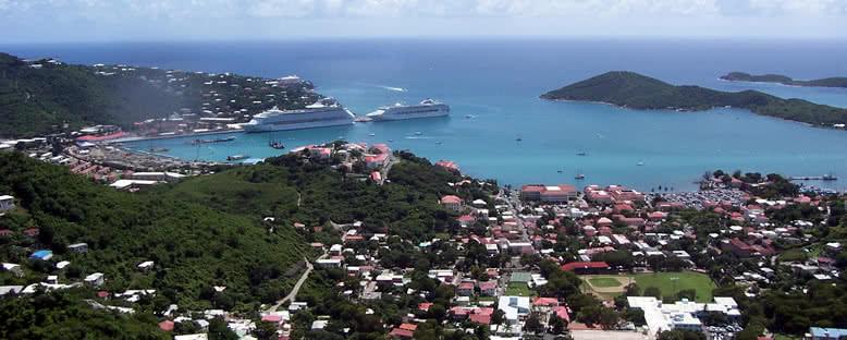 Charlotte Amalie Kent Merkezi - Virgin Adaları