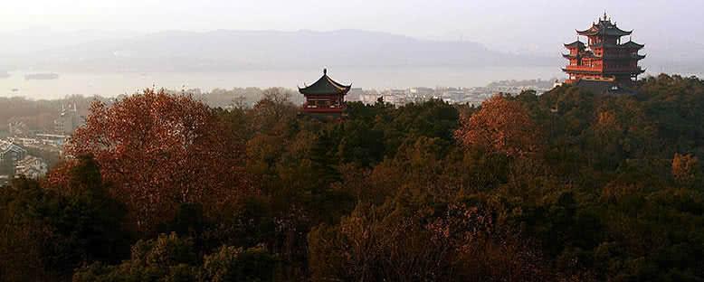 Chenghuangmiao Manzarası - Hangzhou