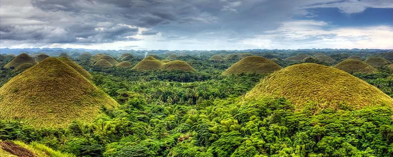 Çikolata Tepeleri - Bohol