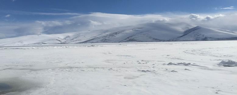 Çıldır Gölü'nde Kış - Kars