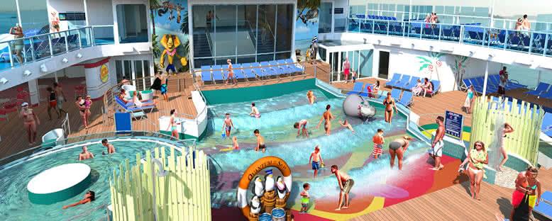 Çocuk Havuzları ve Güneşlenme Alanları