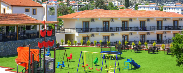 Çocuk Oyun Alanı - Lobi - Riverside Garden Resort