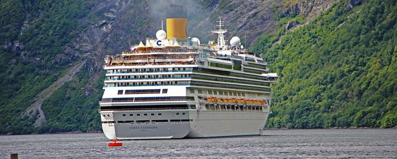 Costa Favolosa ile Norveç Fiyortları Gemi Turu