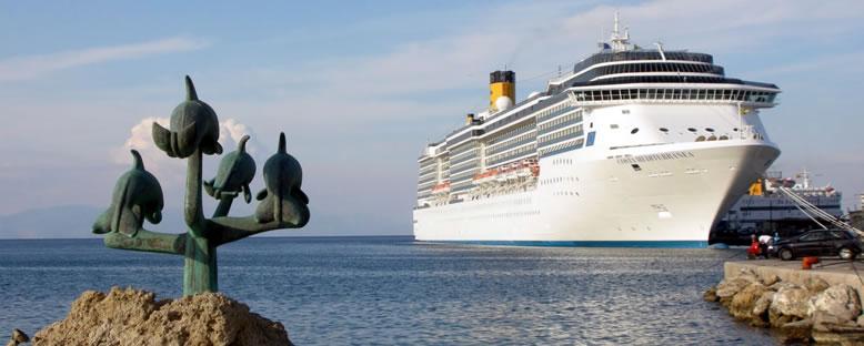 Costa Mediterranea ile Akdeniz Gemi Turu