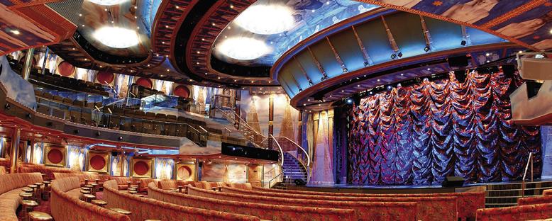 Tiyatro Salonu - Costa Mediterranea