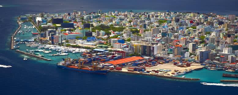 Başkent Male - Maldivler