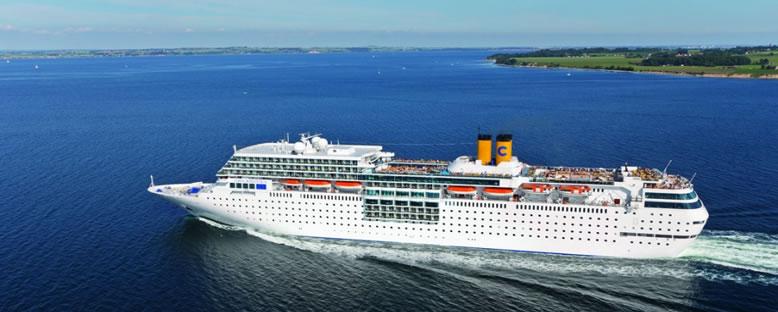 Costa Victoria ile Hint Okyanusu