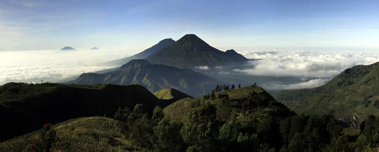 Dağ Manzarası - Dieng Yaylası