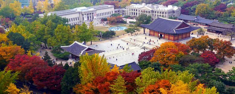 Deoksugung Bahçesi - Seul