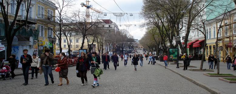 Deribasovskaya Caddesi - Odessa