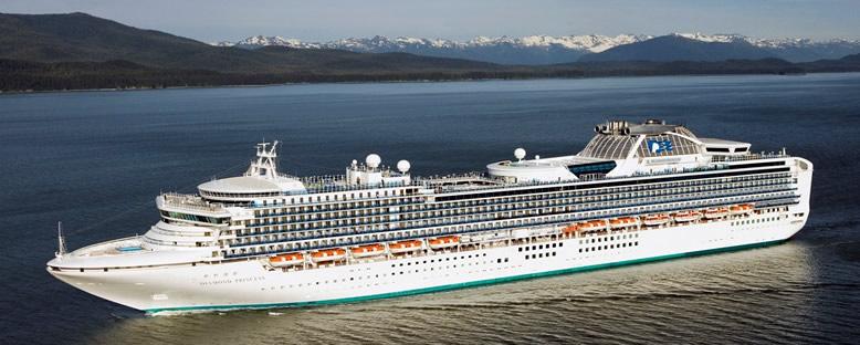 Diamond Princess Cruise Gemisi