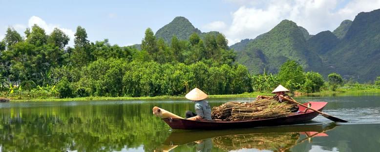 Nehir Manzarası - Vietnam
