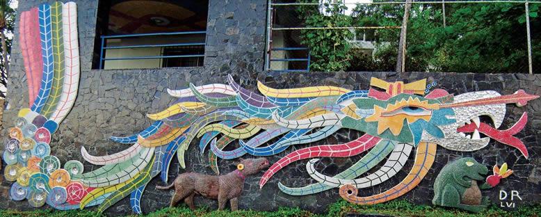 Diego Rivera'nın Murali - Acapulco