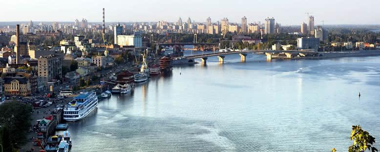 Dinyeper Nehri Manzarası - Kiev