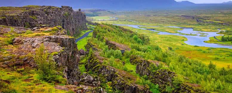 Doğa Manzarası - Thingvellir Ulusal Parkı