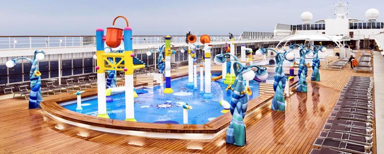 Örnek Çocuk Oyun Alanları - MSC Cruise Gemileri