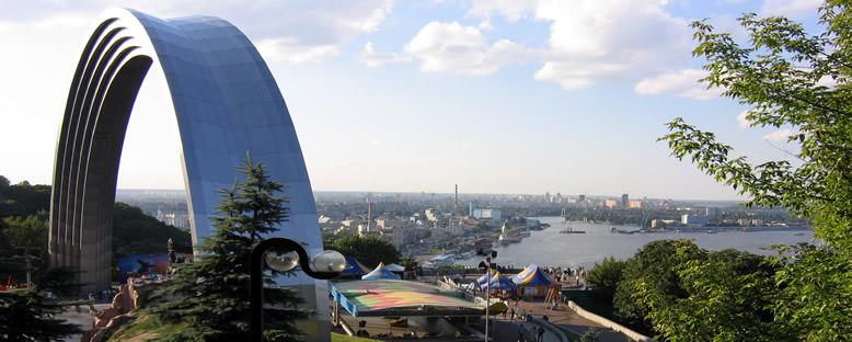Dostluk Heykeli ve Tepesi - Kiev