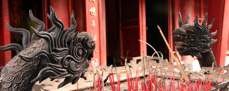 Edebiyat Tapınağı - Hanoi