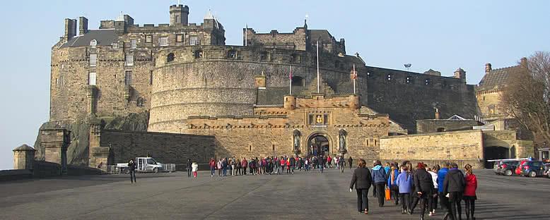 Edinburgh Şatosu - Edinburgh