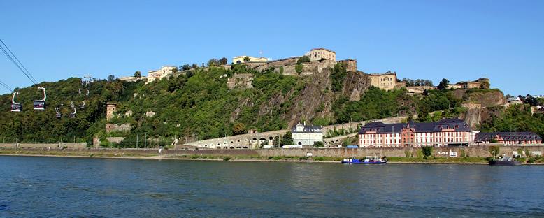 Ehrenbreitstein Kalesi - Koblenz