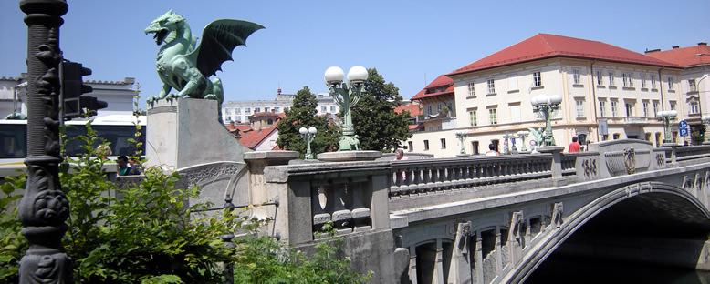 Ejderha Köprüsü - Ljubljana