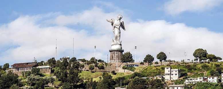 El Panecilllo Heykeli - Quito