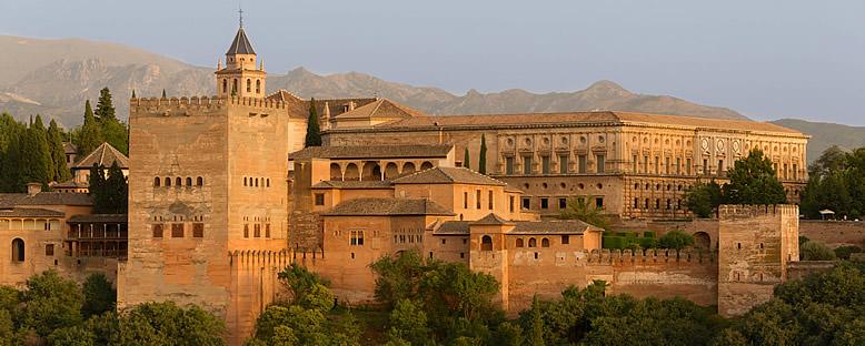 Elhamra Sarayı V. Charles Kanadı - Granada