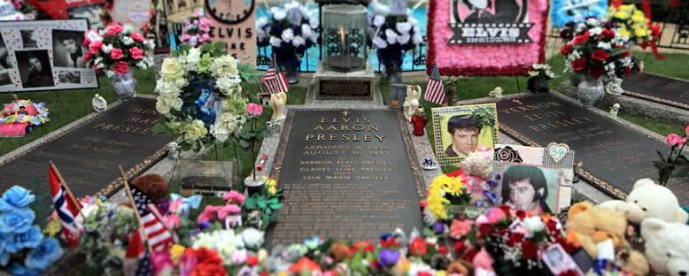 Elvis Presley'in Mezarı - Memphis