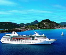 Empress of the Seas ile Karayipler